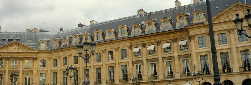 Place Vendôme monuments à visiter