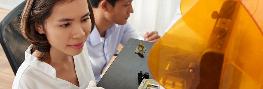 imprimante 3D bijouterie